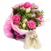 Bouquet & Teddy